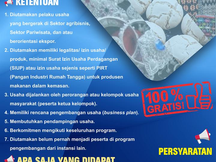 Recruitment Wirausaha Unggulan Bank Indonesia KPw Provinsi Sulawesi Tenggara