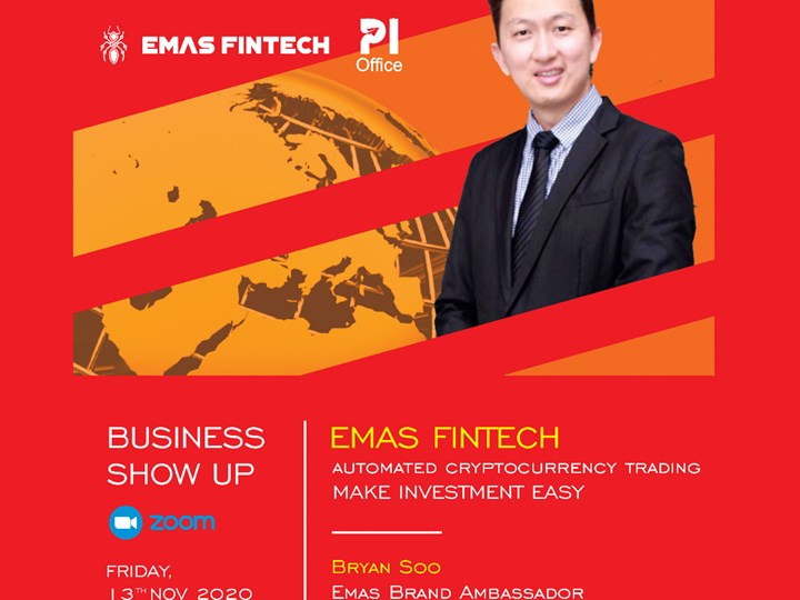 BUSINESS SHOW UP : Emasfintech, Automated Cryptocurrency Trading